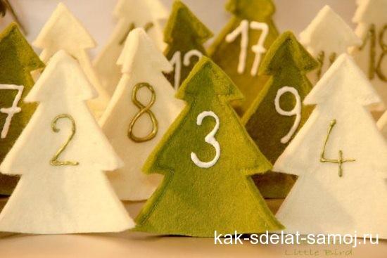Адвент-календарь на новый год