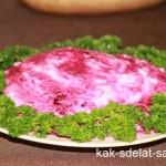 Селедка под шубой — классический рецепт с фото