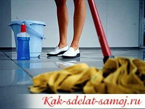 Как мыть полы правильно