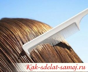 Аромарасчесывание волос