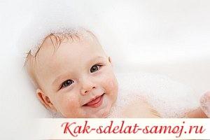 Игры в ванной для ребенка
