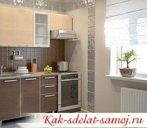 Как увеличить кухню - Увеличиваем кухню зрительно