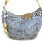 Как сделать сумку из старых джинсов