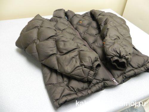 Как сушить куртку-пуховик
