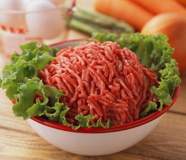 мясо для чебуреков, фото