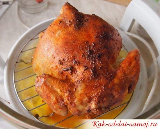 Приготовление курицы в аэрогриле, фото