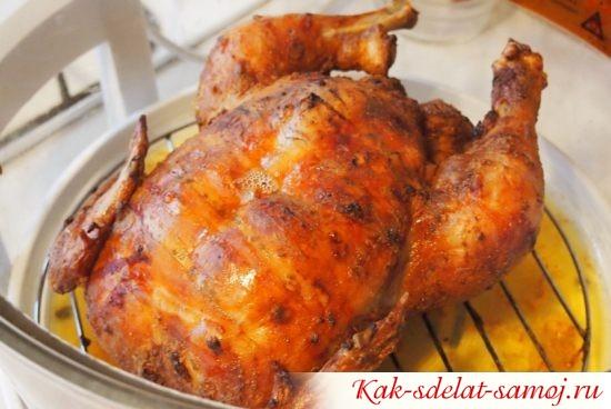 Курица в аэрогриле - сочный фото-рецепт