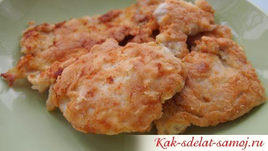 Вкусные отбивные из куриного мяса
