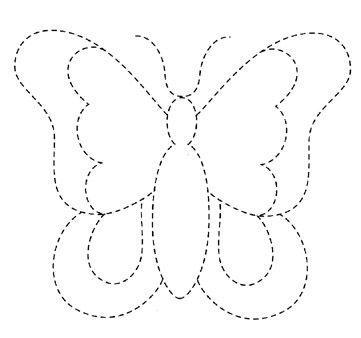 выкройки бабочек