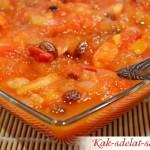Индийский Чатни — соус и заготовка на зиму