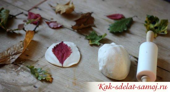 соленое тесто и осень