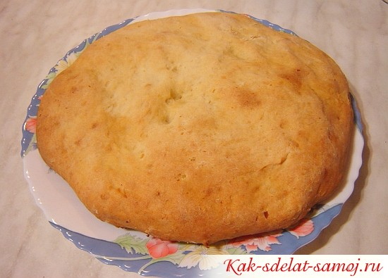Картофельная лепешка в духовке
