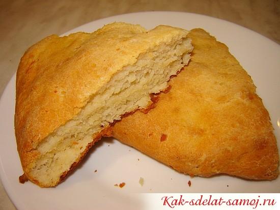 Фото рецепт: запеченое картофельное тесто