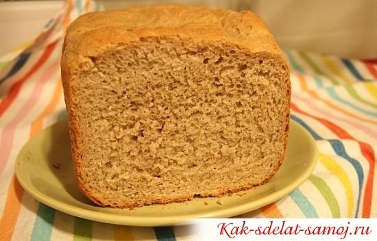 Серый хлеб из хлебопечки