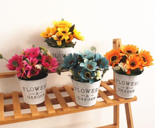 цветы в горшках на 8 марта для коллег