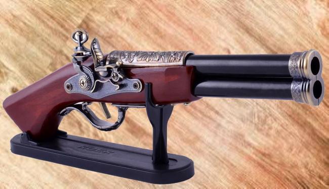 Подарочный пистолет-зажигалка