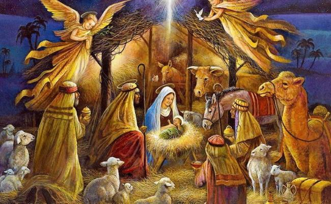 Скачай бесплатно рождественскую картинку