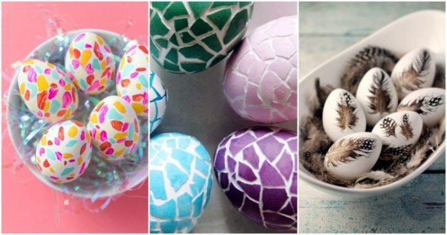 Как украсить яйца к Пасхе 2021