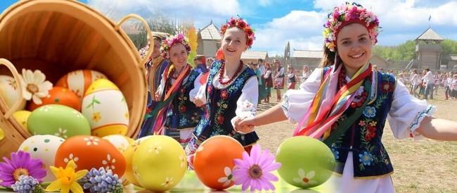 Великдень или Пасха на Руси