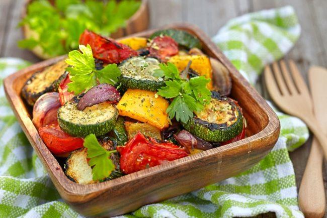овощное меню