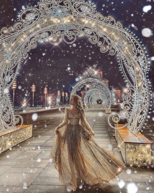 новогодняя ночь в год Тигра