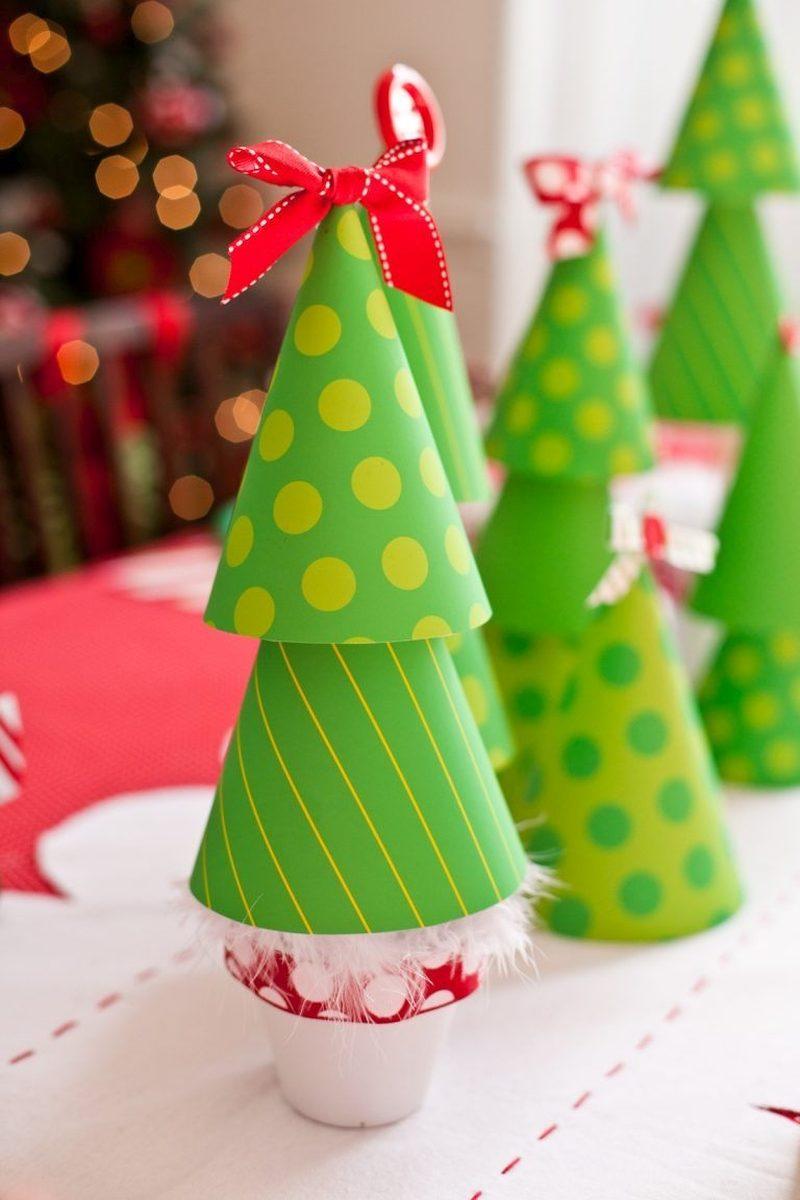 новогодние поделки в детский сад или школу
